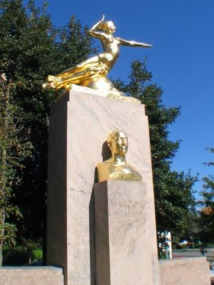 Marconi-statue