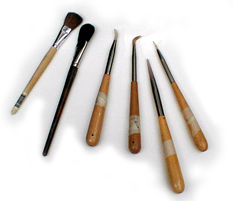 Agate Burnishers and Brushes