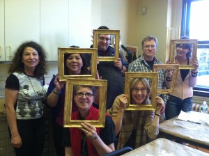 Traditional Water Gilding Class 2014